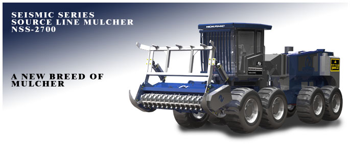 Mechanical strip mulcher